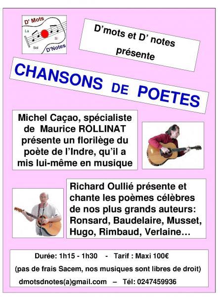 Chansons de poetes
