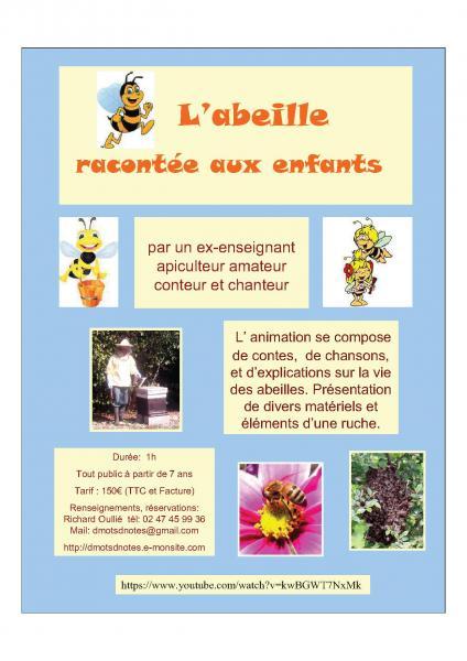 Plaquette abeilles