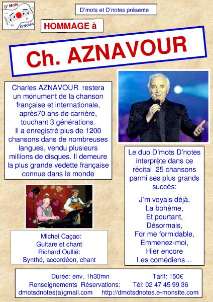 Plaquette aznavour